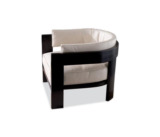 Warhol Blac Lac. by Minotti | Garden armchairs