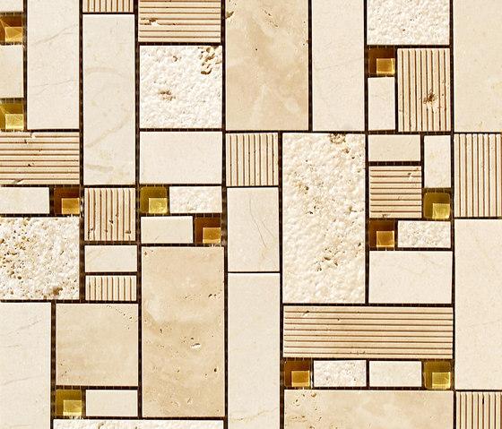 Mosaico Grimani Crema di VIVES Cerámica | Mosaici