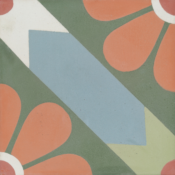 Cement tile by VIA | Pattern historic