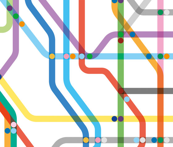 Tokyo Metro [Collection 6] by Extratapete | Wall coverings / wallpapers