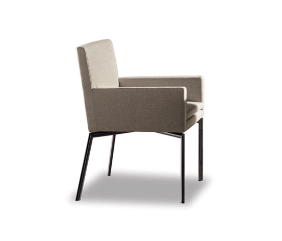 Manet by Minotti | Visitors chairs / Side chairs