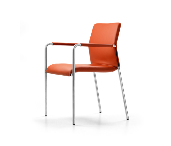 LEO Chair by Girsberger | Visitors chairs / Side chairs