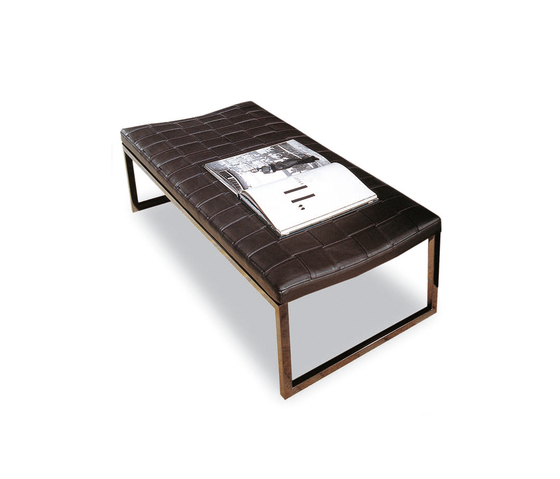 Mongé Bench by Minotti | Upholstered benches
