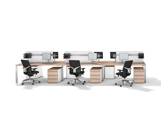 Winea Pro de WINI Büromöbel   Sistemas de mesas
