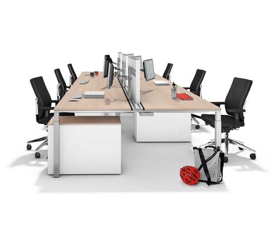 Winea Pro de WINI Büromöbel | Sistemas de mesas