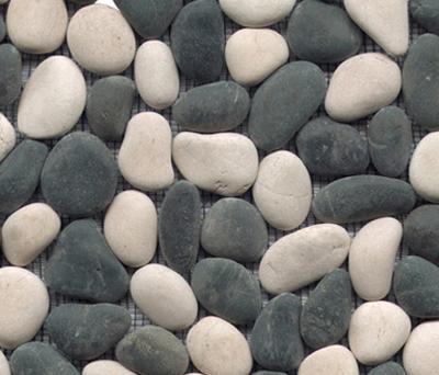 Anticato Baia Stone Blanco Negro by Porcelanosa | Natural stone mosaics