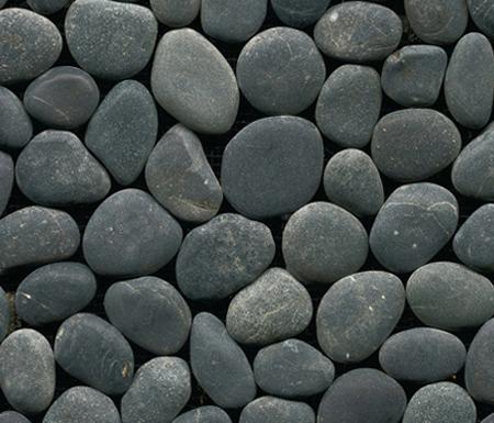Anticato Baia Stone Negro von Porcelanosa | Naturstein Mosaike