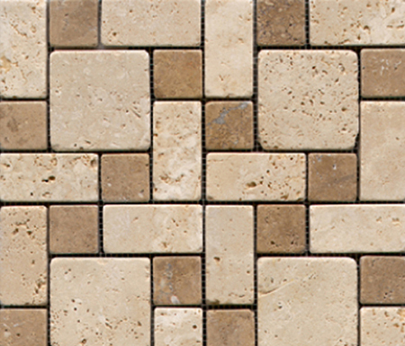 Anticato Beige Noche by Porcelanosa | Natural stone mosaics