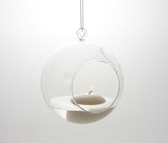 float glassware | bubble de molo | Bougeoirs