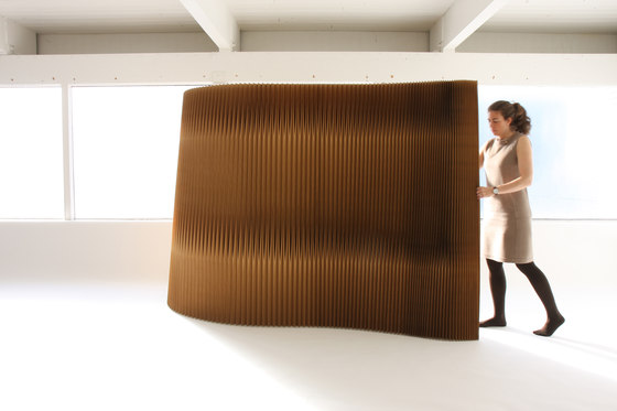 softwall | tapered by molo | Space dividers