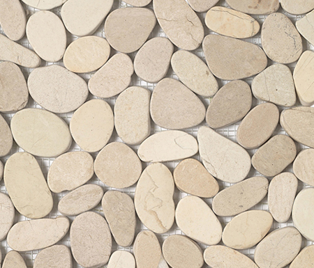 Anticato Lake Stone Blanco by Porcelanosa | Natural stone mosaics