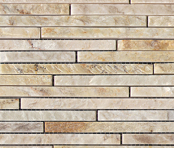 Anticato Mini Strip Lhasa by Porcelanosa | Natural stone mosaics