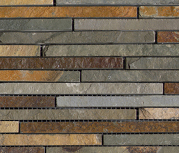 Anticato Mini Strip Nepal by Porcelanosa | Natural stone mosaics
