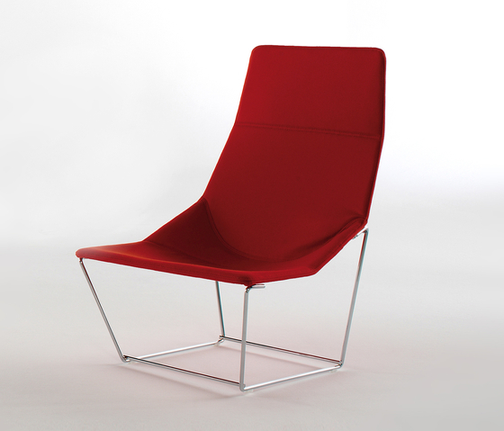 Ace Armchair by viccarbe | Armchairs