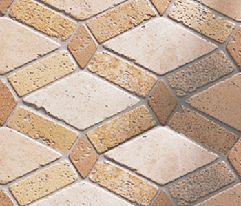 Anticato Saqqara Moka Albero by Porcelanosa | Natural stone mosaics