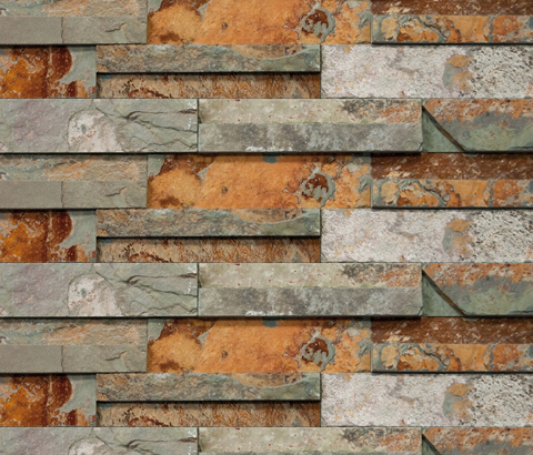 Brick Wall Nepal by Porcelanosa | Mosaics