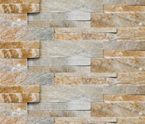Brick Wall Shannan by Porcelanosa   Natural stone mosaics