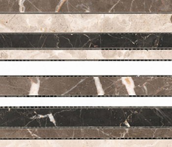 Classico Multicolor Strip by Porcelanosa | Facade cladding