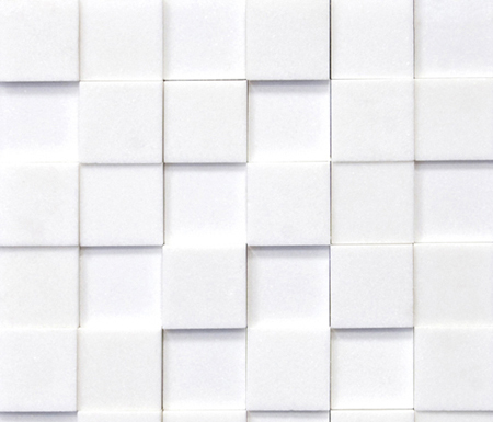 Classico Shapes Blanco Thassos by Porcelanosa | Natural stone mosaics