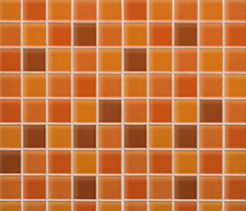 Mosaico Crystal Orange de Porcelanosa | Mosaïques céramique