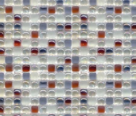 Mini Dados Ambar di Porcelanosa | Mosaici vetro