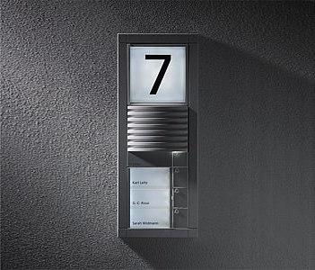 Siedle Vario audio intercom unit by Siedle | Intercoms (exterior)