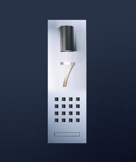siedle steel audio intercom unit door bells from siedle. Black Bedroom Furniture Sets. Home Design Ideas