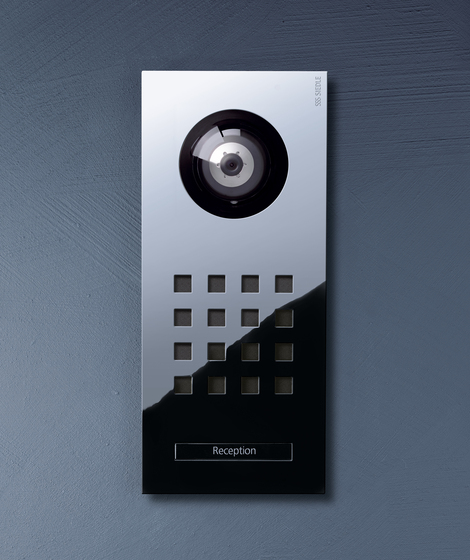 Siedle Steel video intercom unit by Siedle | Intercoms (exterior)