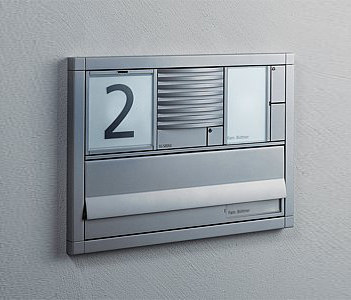 Siedle Vario flush-mounted letterbox by Siedle | Mailboxes