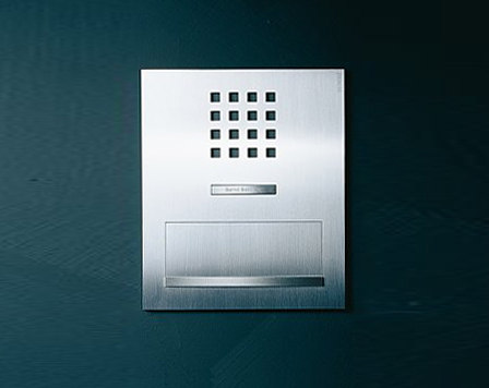 Siedle Steel flush-mounted letterbox by Siedle | Mailboxes