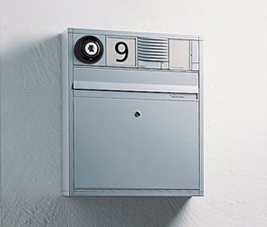 Siedle Vario surface-mounted letterbox di Siedle | Bucalettere