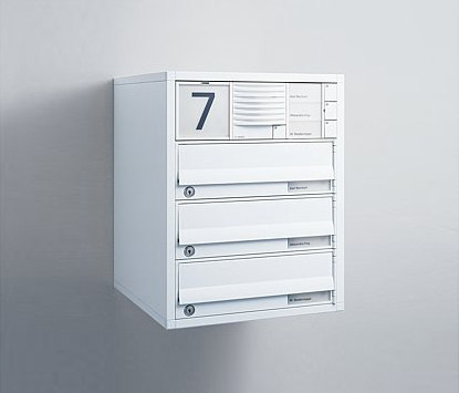Siedle Vario surface-mounted letterbox by Siedle | Mailboxes