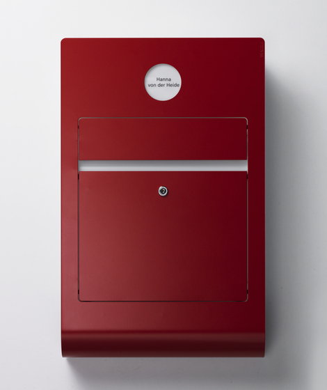 Siedle Select surface-mounted letterbox by Siedle | Mailboxes