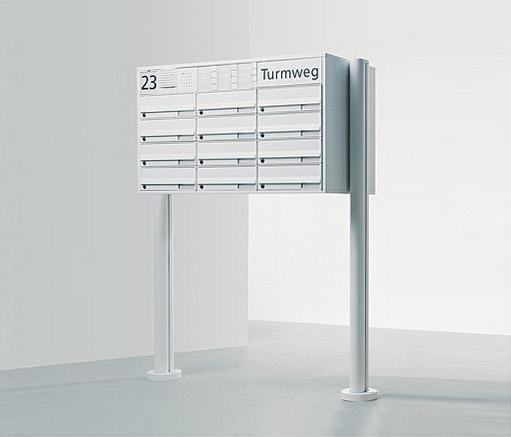 siedle vario freistehender briefkasten briefk sten von. Black Bedroom Furniture Sets. Home Design Ideas
