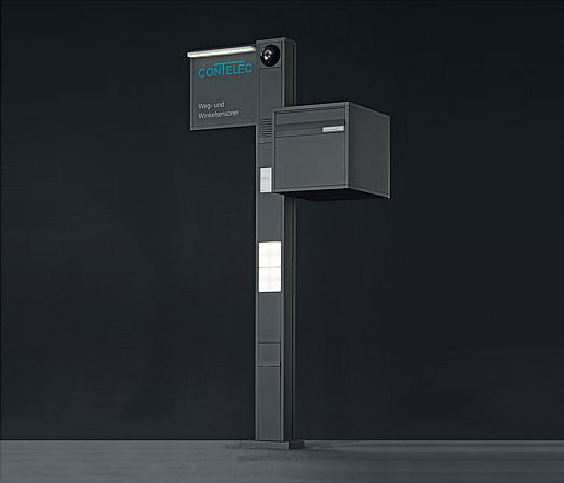 Siedle Vario free-standing letterbox by Siedle | Mailboxes