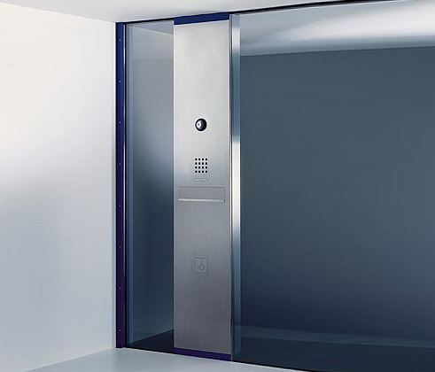Siedle Steel glass-mounted letterbox de Siedle | Stations de porte