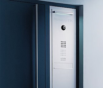 Siedle Steel door panel-mounted letterbox by Siedle | Mailboxes