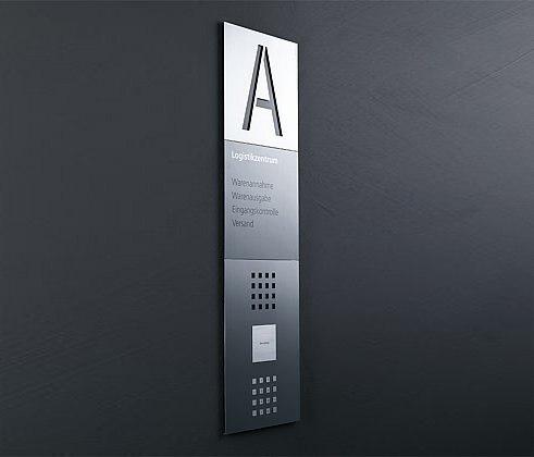 Siedle Steel Eingangskontrolle von Siedle | Eingangsstationen