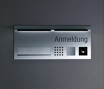 Siedle Steel entrance control by Siedle | Intercoms (exterior)