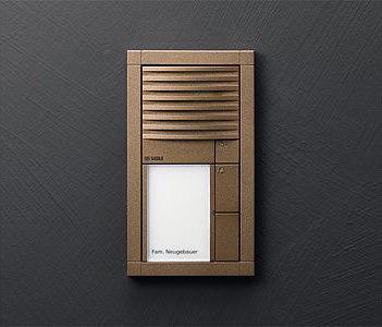 Siedle Vario audio intercom unit by Siedle | Intercoms (exterior)