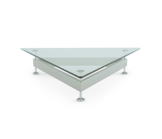 Damier Table Triangle by edra | Coffee tables