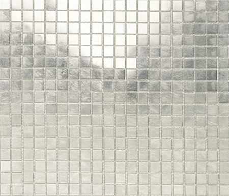 Fashion Gold -White 1x1 by Porcelanosa | Glass mosaics