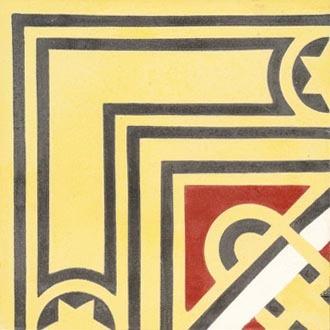 Zementmosaikplatte von VIA | Bodenfliesen