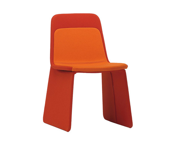Layer by viccarbe | Visitors chairs / Side chairs