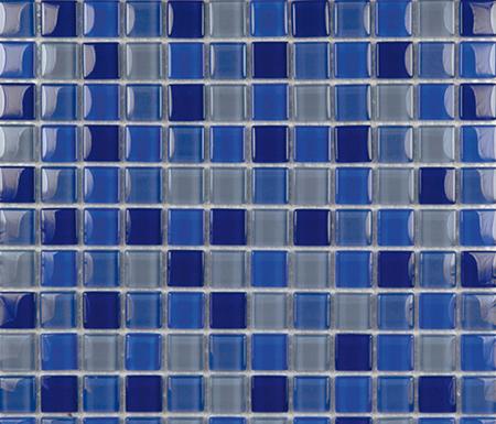 Glacier Mix Marinos 2-3x2-3 by Porcelanosa | Glass mosaics