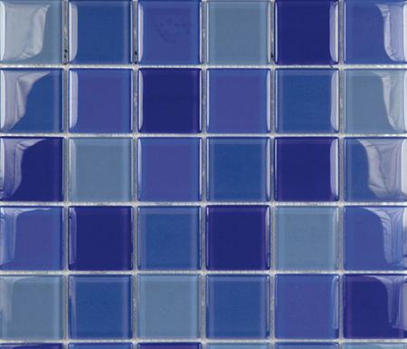 Glacier Mix Marinos 5x5 by Porcelanosa | Glass mosaics