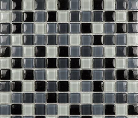 Glacier Mix Grises 2-3x2-3 by Porcelanosa | Glass mosaics