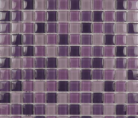 Glacier Mix Lilas 2-3x2-3 di Porcelanosa | Mosaici in vetro