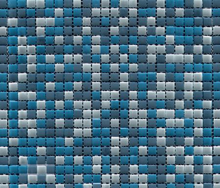 Iglu Mix Azules by Porcelanosa | Glass mosaics