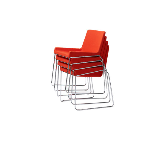 Tonic stackable chair by Rossin | Conference chairs